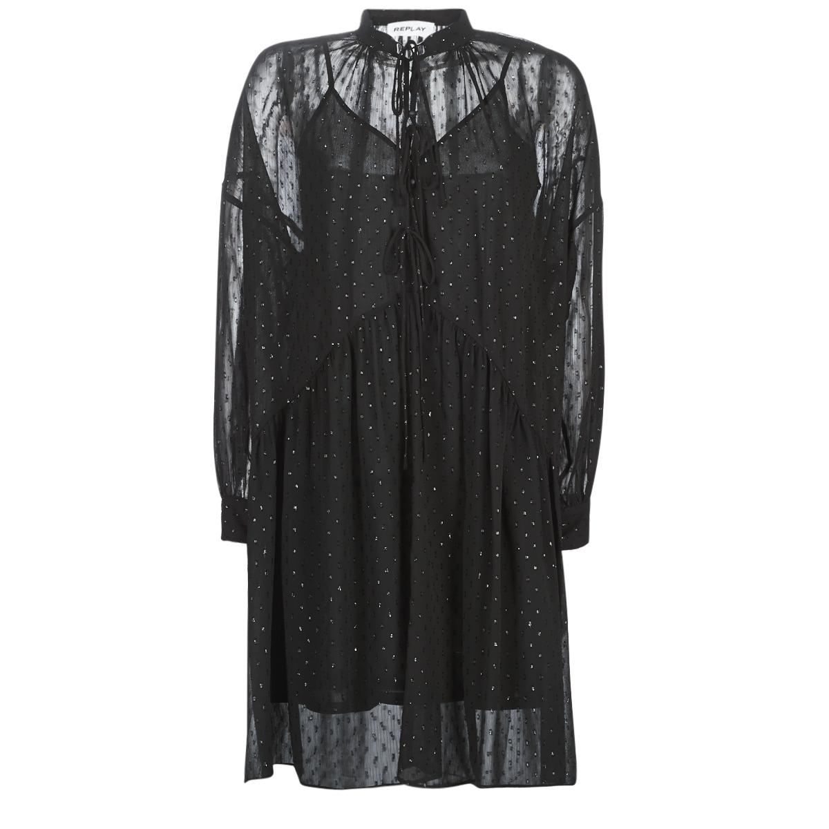 Korte kjoler Replay  W9525-000-83494-098