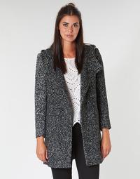 textil Dame Frakker Casual Attitude LOUA Grå / Sort