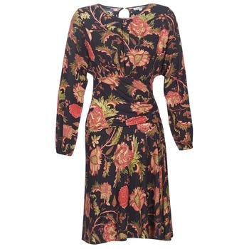 textil Dame Korte kjoler Derhy BANQUISE Sort / Flerfarvet