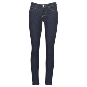 textil Dame Jeans - skinny Lee SCARLETT RINSE Blå