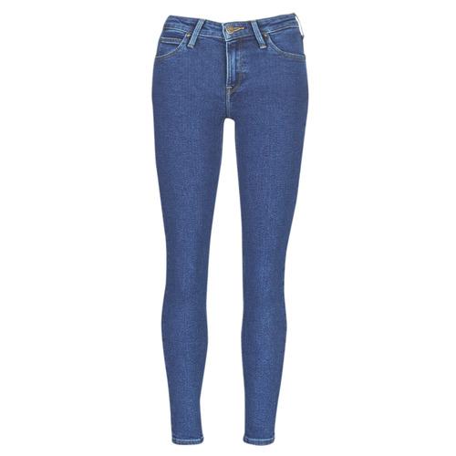 textil Dame Smalle jeans Lee SCARLETT STONE MILTONA Blå