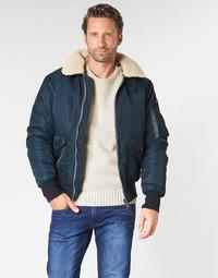 textil Herre Jakker Schott OHARA Marineblå