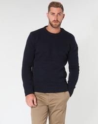 textil Herre Pullovere Schott PLOUTRIDER1 Marineblå