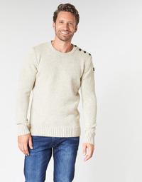 textil Herre Pullovere Schott PLOUTRIDER1 Beige