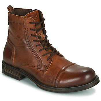 Sko Herre Støvler Jack & Jones JFW RUSSEL LEATHER Cognac