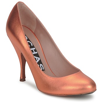Sko Dame Pumps Rochas RO18061-90 Metal-orange