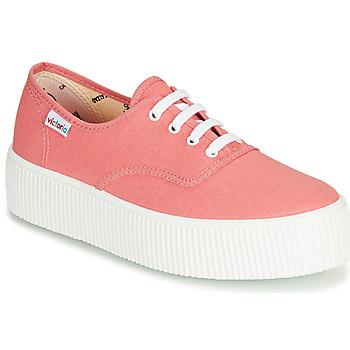 Sko Dame Lave sneakers Victoria 1915 DOBLE LONA Pink