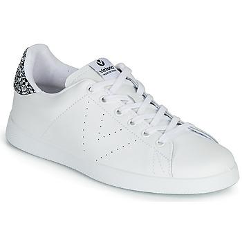 Sko Dame Lave sneakers Victoria TENIS PIEL Hvid