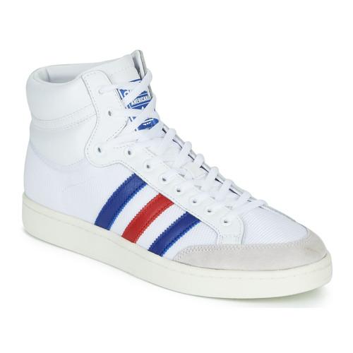 Sko Høje sneakers adidas Originals AMERICANA HI Hvid / Blå / Rød