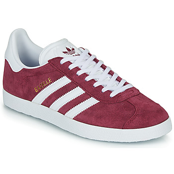 Sko Lave sneakers adidas Originals GAZELLE Bordeaux
