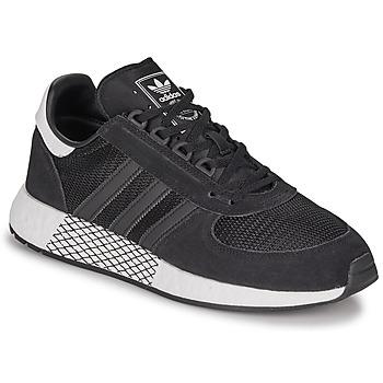 Sko Herre Lave sneakers adidas Originals MARATHON TECH Sort