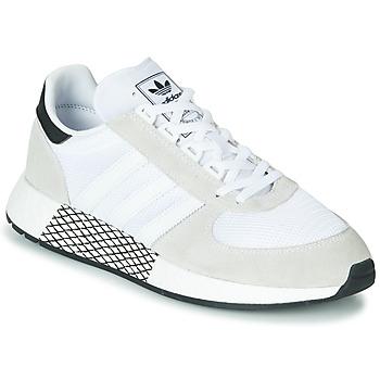 Sko Lave sneakers adidas Originals MARATHON TECH Hvid