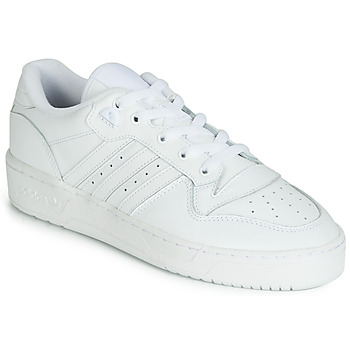 Sko Lave sneakers adidas Originals RIVALRY LOW Hvid