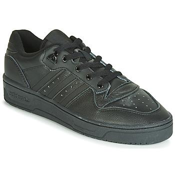 Sko Herre Lave sneakers adidas Originals RIVALRY LOW Sort