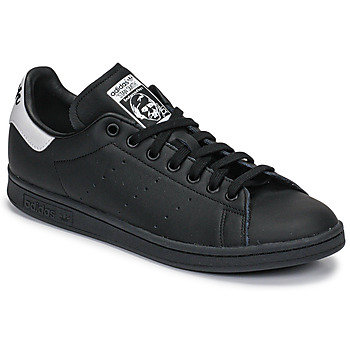 Sko Lave sneakers adidas Originals STAN SMITH Sort / Hvid