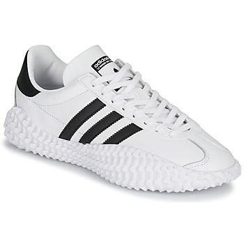 Sko Herre Lave sneakers adidas Originals COUNTRYXKAMANDA Hvid / Sort