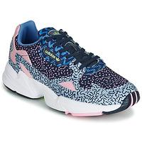 Sko Dame Lave sneakers adidas Originals FALCON W Blå / Pink
