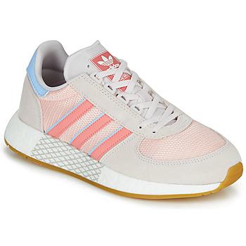 Sko Dame Lave sneakers adidas Originals MARATHON TECH W Grå / Pink