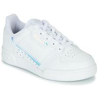 Sko Børn Lave sneakers adidas Originals CONTINENTAL 80 C Hvid / Blå
