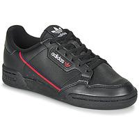 Sko Børn Lave sneakers adidas Originals CONTINENTAL 80 J Sort