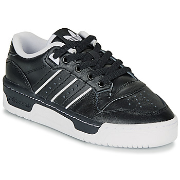 Sko Børn Lave sneakers adidas Originals RIVALRY LOW J Sort