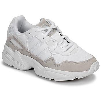 Sko Børn Lave sneakers adidas Originals YUNG-96 J Beige