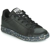 Sko Børn Lave sneakers adidas Originals STAN SMITH C Sort