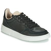 Sko Børn Lave sneakers adidas Originals SUPERCOURT J Sort