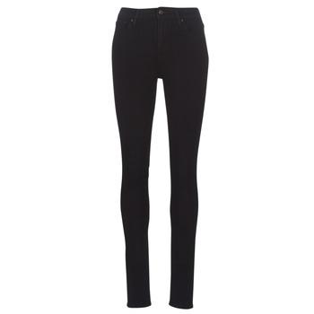 textil Dame Jeans - skinny Levi's 721 HIGH RISE SKINNY Long / Shot