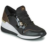 Sko Dame Lave sneakers MICHAEL Michael Kors LIV TRAINER Sort / Brun