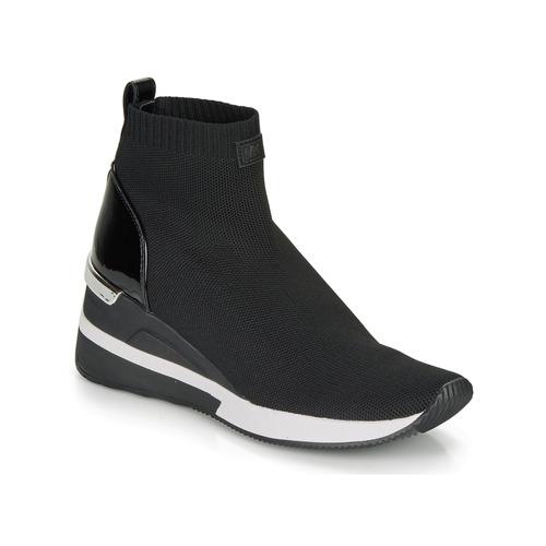 Sko Dame Høje sneakers MICHAEL Michael Kors SKYLER Sort