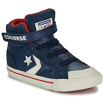 Sko Børn Høje sneakers Converse PRO BLAZE STRAP - HI Navy