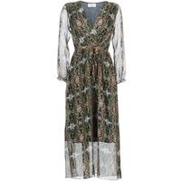 textil Dame Lange kjoler Betty London LILIE-ROSE Grøn / Flerfarvet