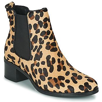 Sko Dame Høje støvletter Betty London HASNI Leopard