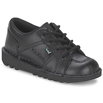 Sko Børn Lave sneakers Kickers KICK LOTOE Sort