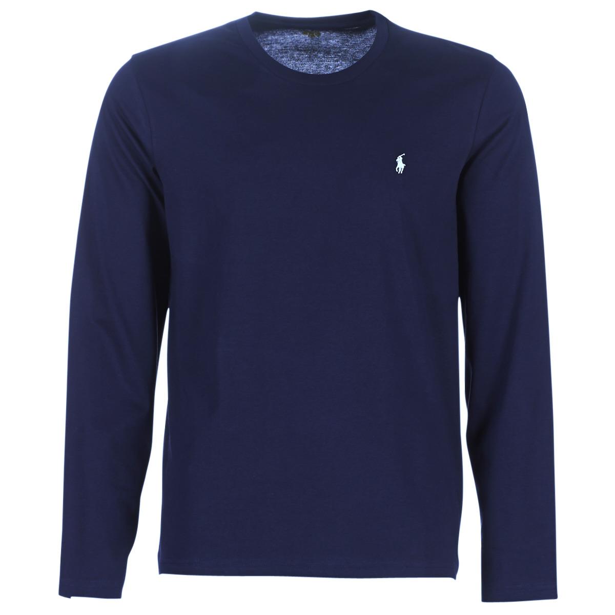 Langærmede T-shirts Ralph Lauren  L/S CREW-CREW-SLEEP TOP