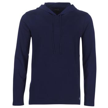 textil Herre Sweatshirts Polo Ralph Lauren L/S HOODIE-HOODIE-SLEEP TOP Marineblå