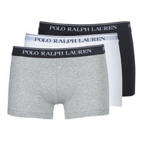 Undertøj Herre Trunks Ralph Lauren CLASSIC-3 PACK-TRUNK Sort / Hvid / Grå