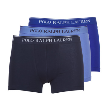 Undertøj Herre Trunks Ralph Lauren CLASSIC-3 PACK-TRUNK Blå