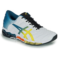 Sko Herre Lave sneakers Asics GEL-QUANTUM 360 5 Hvid / Flerfarvet