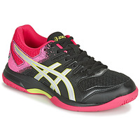 Sko Dame Indendørssport Asics GEL-ROCKET 9 Sort / Pink