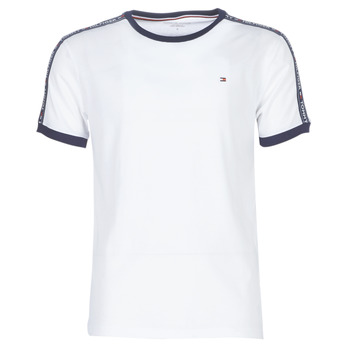 textil Herre T-shirts m. korte ærmer Tommy Hilfiger AUTHENTIC-UM0UM00563 Hvid