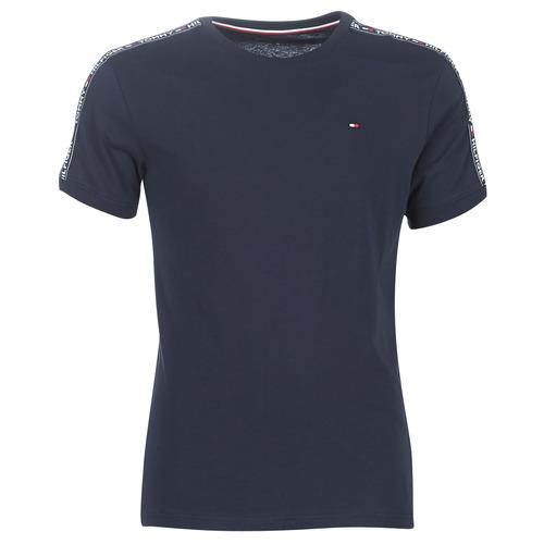 textil Herre T-shirts m. korte ærmer Tommy Hilfiger AUTHENTIC-UM0UM00562 Marineblå