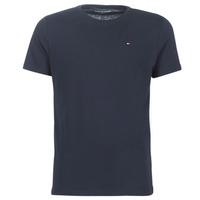 textil Herre T-shirts m. korte ærmer Tommy Hilfiger COTTON ICON SLEEPWEAR-2S87904671 Marineblå