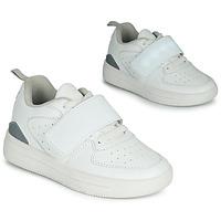 Sko Børn Lave sneakers Primigi INFINITY LIGHTS Hvid