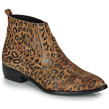 Sko Dame Støvler Ippon Vintage GILL ARTY Kamel