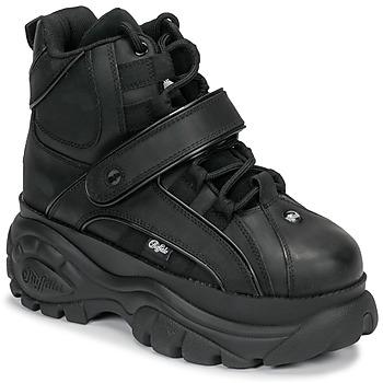 Sko Dame Høje sneakers Buffalo 1348 Sort