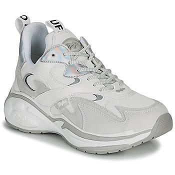 Sko Dame Lave sneakers Buffalo CAI Hvid / Sølv