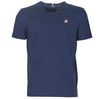 textil Herre T-shirts m. korte ærmer Le Coq Sportif ESS TEE SS N°2 M Blå / Marineblå