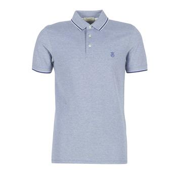 textil Herre Polo-t-shirts m. korte ærmer Selected SLHTWIST Marineblå